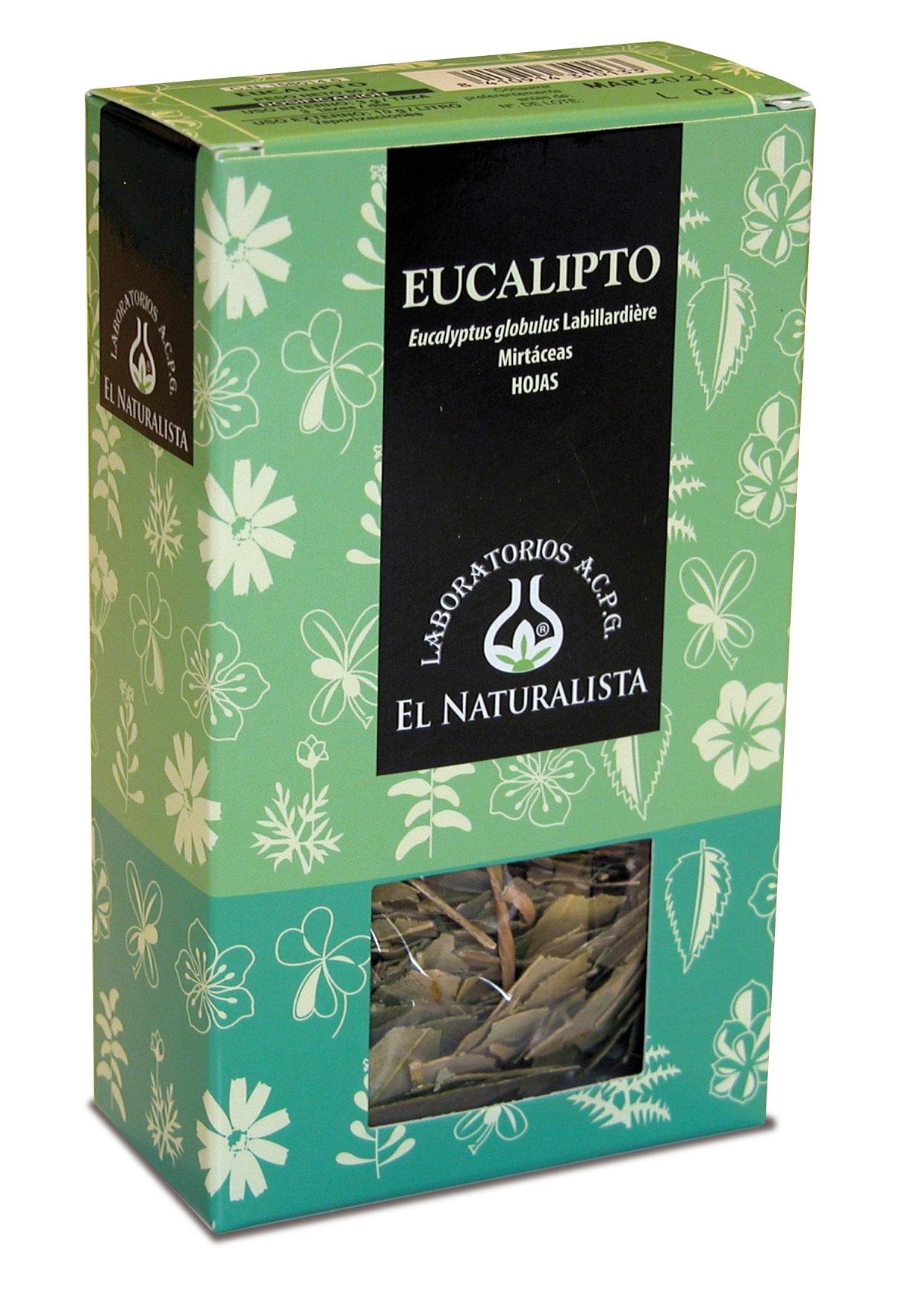 El Naturalista Eucalipto Planta 80gr
