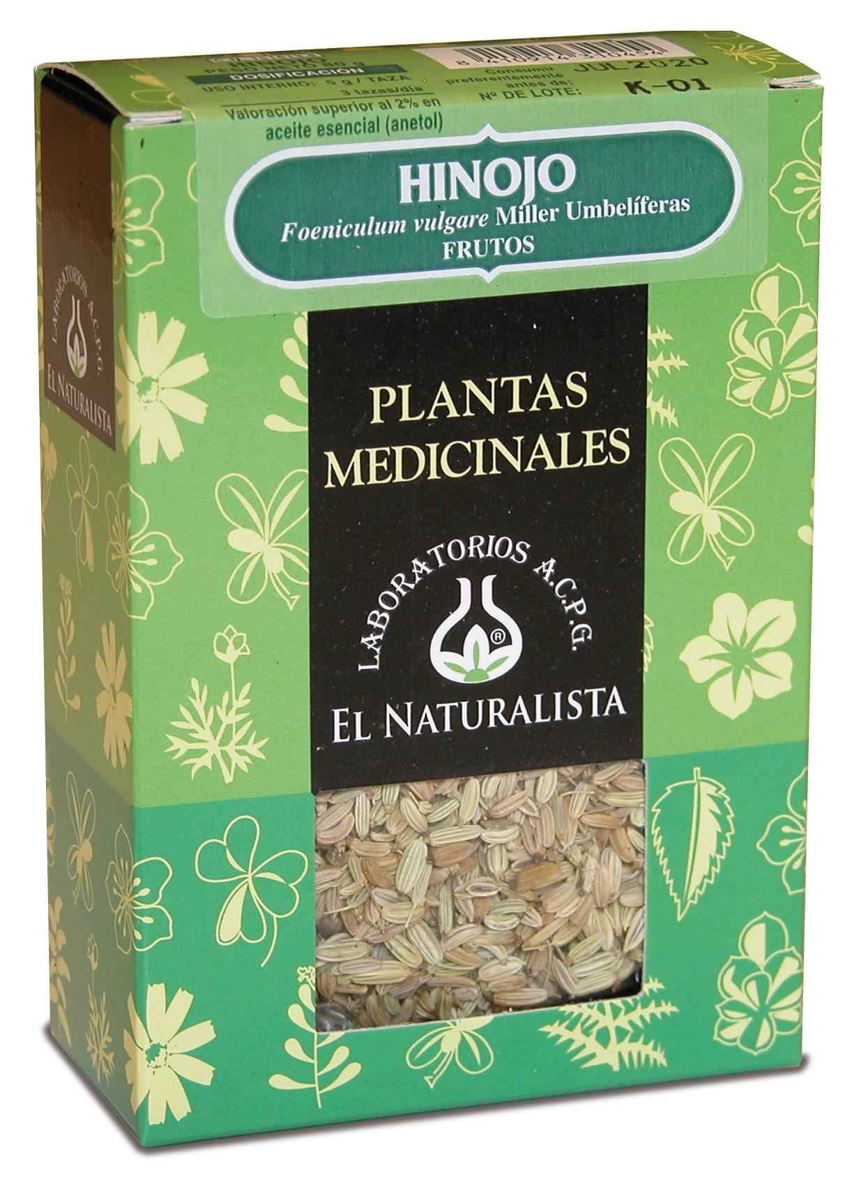 El Naturalista Hinojo Planta 80gr