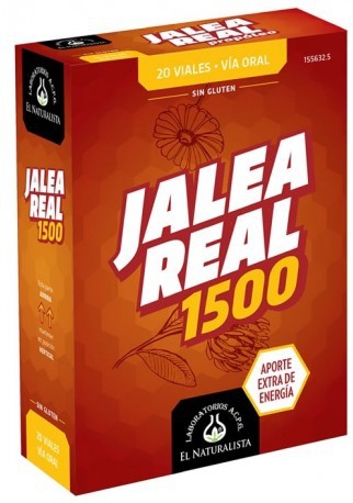 El Naturalista Jalea Real 1500mg 20 viales