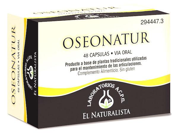 El Naturalista Oseonatur 48 cápsulas