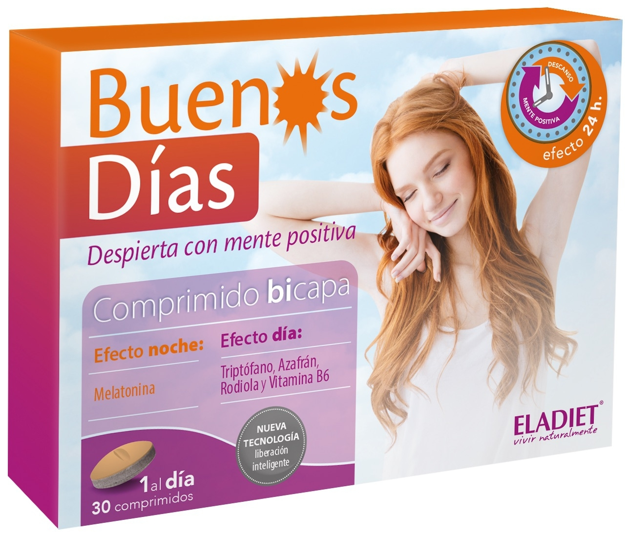 Eladiet Buenos Días 30 comprimidos