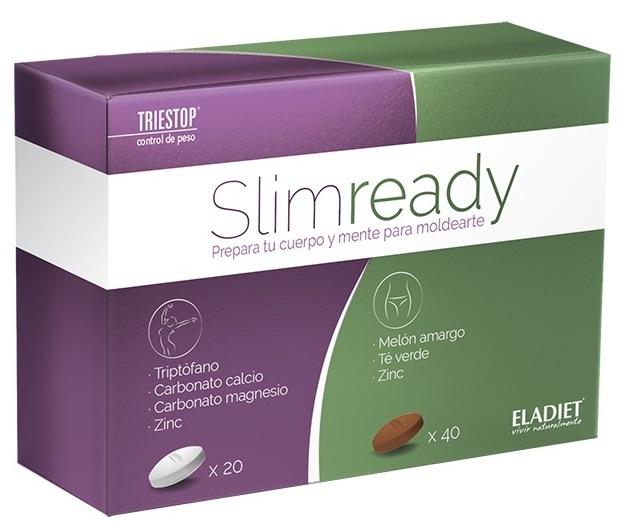 Eladiet Slimready 20 comprimidos blancos + 40 comprimidos marrón