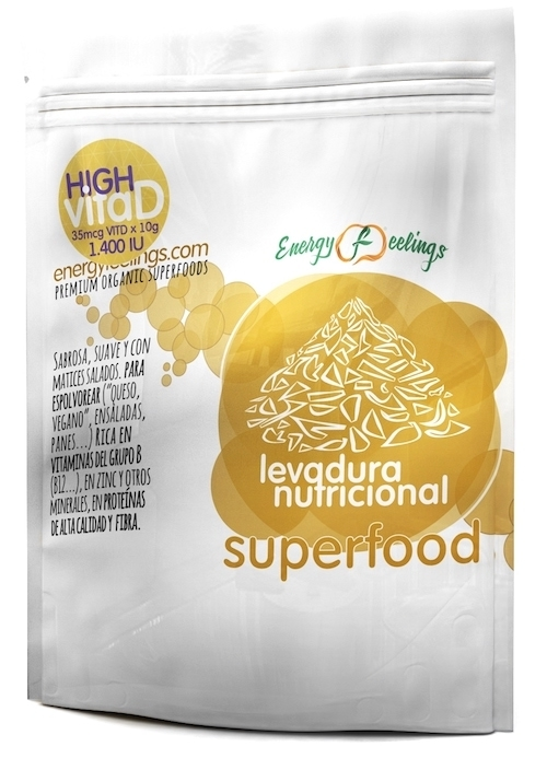 Energy Fruits Levadura Nutricional High VitaD 75gr