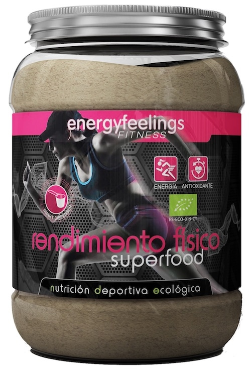 Energy Fruits Rendimiento Físico ECO 750gr