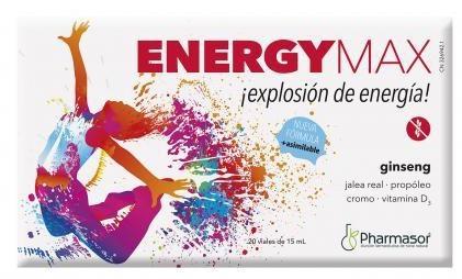 Pharmasor Energy Max 20 viales
