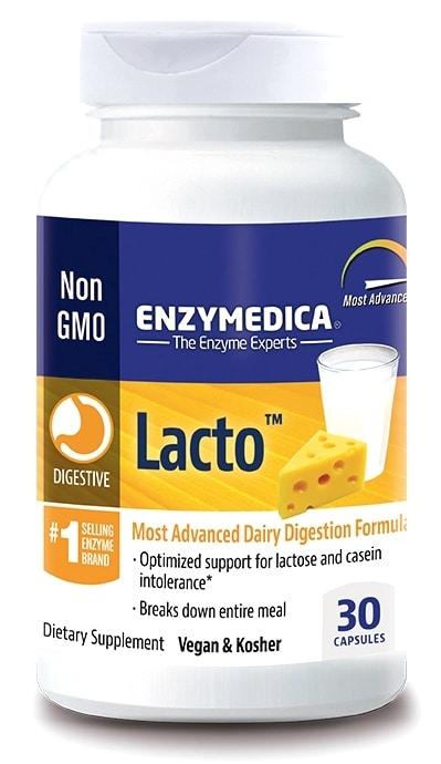 Enzymedica Lacto 30 cápsulas vegetales