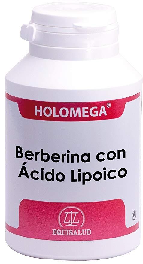 Equisalud Holomega Berberina con Ácido Lipoico 180 cápsulas