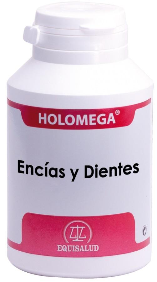 Equisalud Holomega Encías y Dientes 180 cápsulas