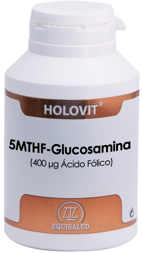 Equisalud Holovit 5MTHF - Glucosamina 180 cápsulas