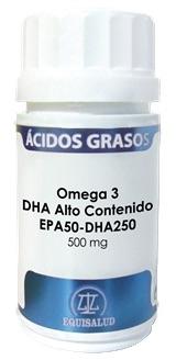 Equisalud Omega 3 DHA Alto Contenido EPA50-DHA 250 60 cápsulas