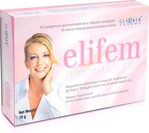 Glauber Pharma Elifem 30 comprimidos