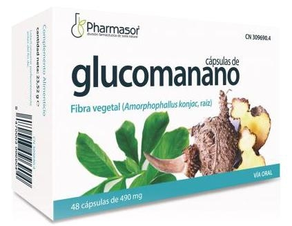 Pharmasor Glucomano 48 cápsulas