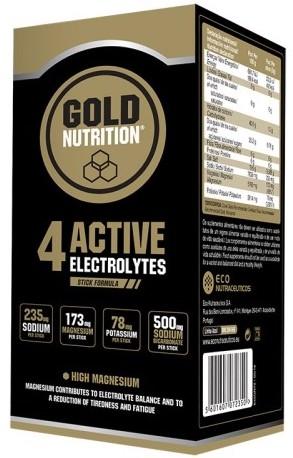 Gold Nutrition 4 Active Electrolytes 10 sticks