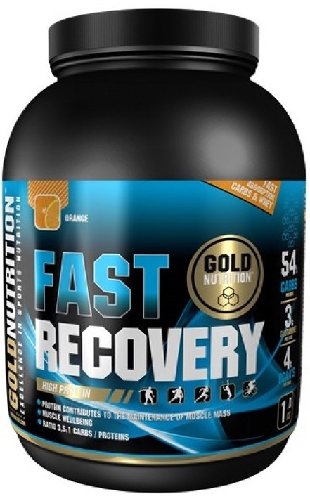 Gold Nutrition Fast Recovery Sabor Naranja 1kg