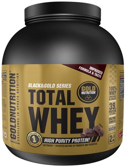 Gold Nutrition Total Whey Sabor Fresa 2kg