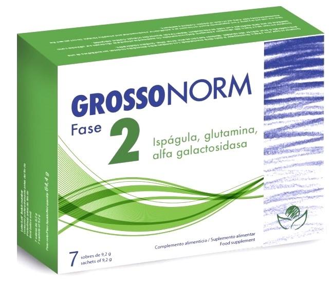 Bioserum Grossonorm Fase 2 envase de 7 sobres