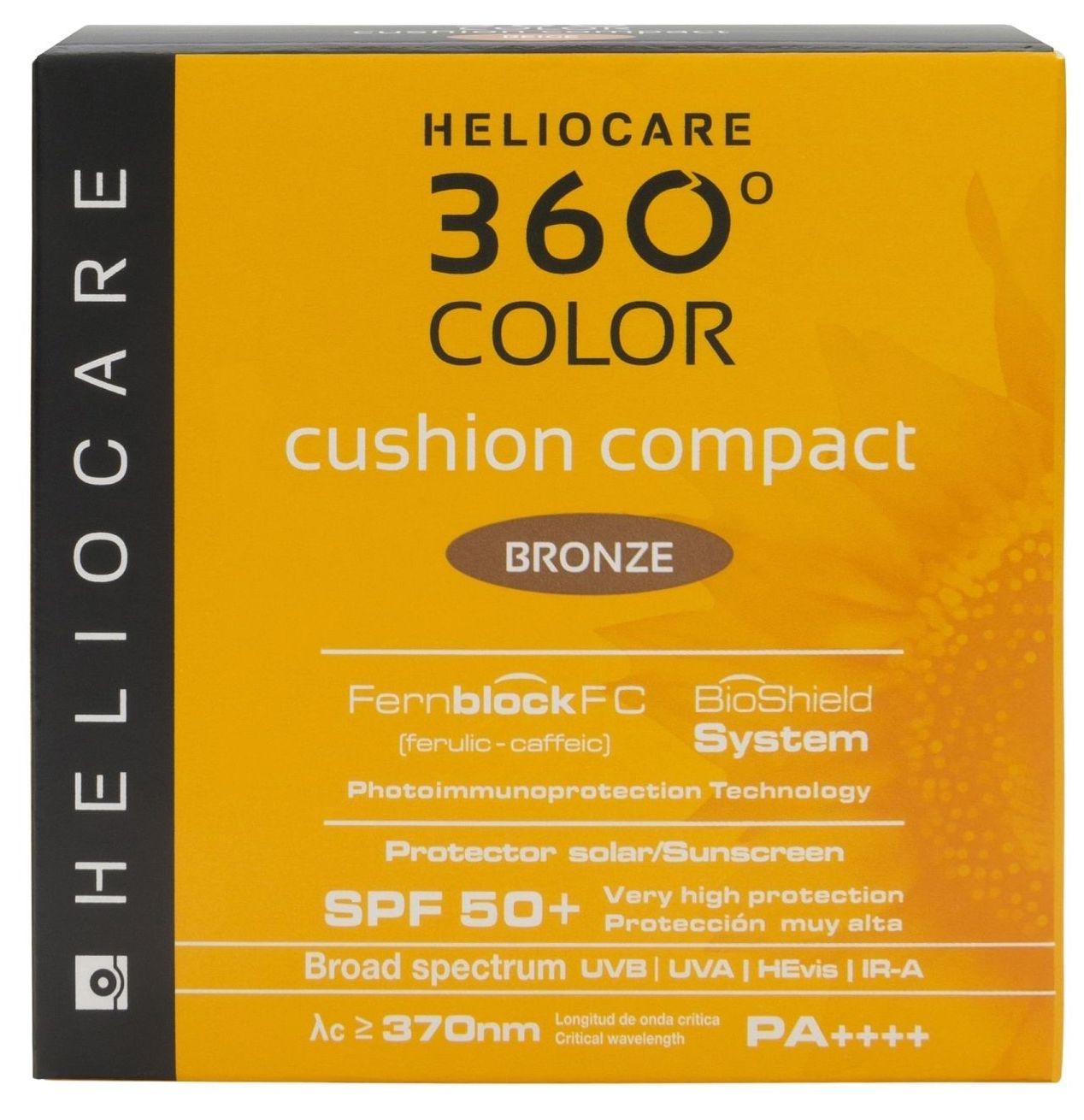 Heliocare 360º Cushion Bronze 15gr