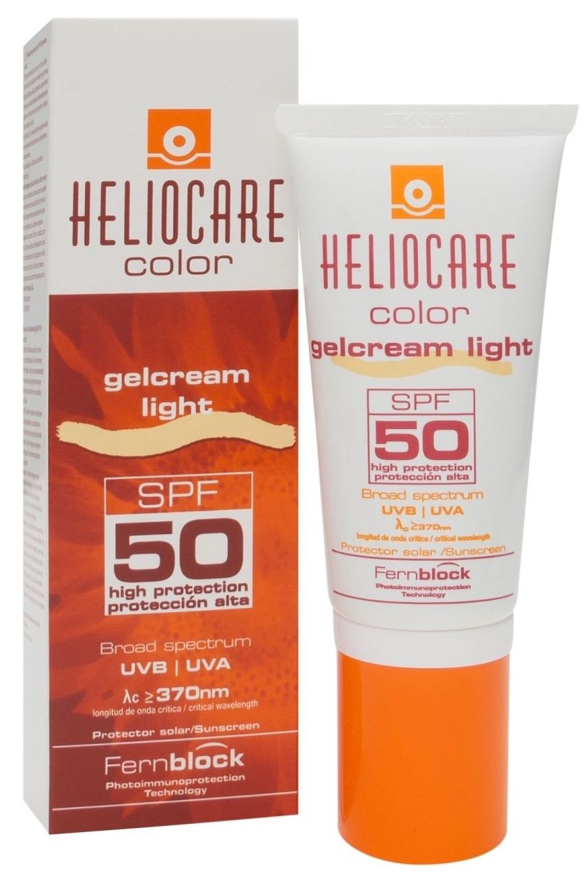 Heliocare Gelcream Color Light SPF50+ 50ml