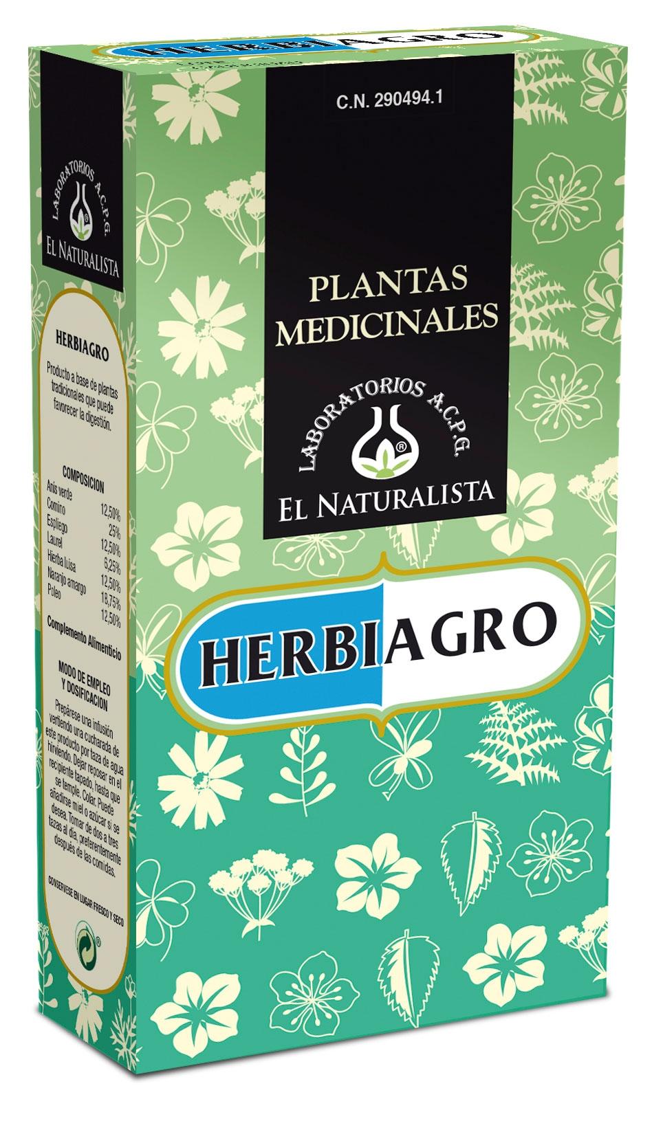 El Naturalista Herbiagro 100gr