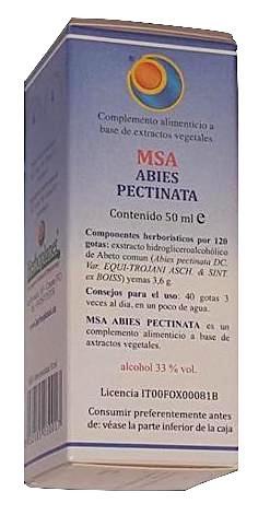 Herboplanet MSA Abies Pectinata Yemas Abeto Blanco 50ml