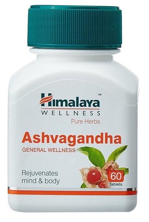 Himalaya Ashvagandha Withania Somnifera 60 cápsulas