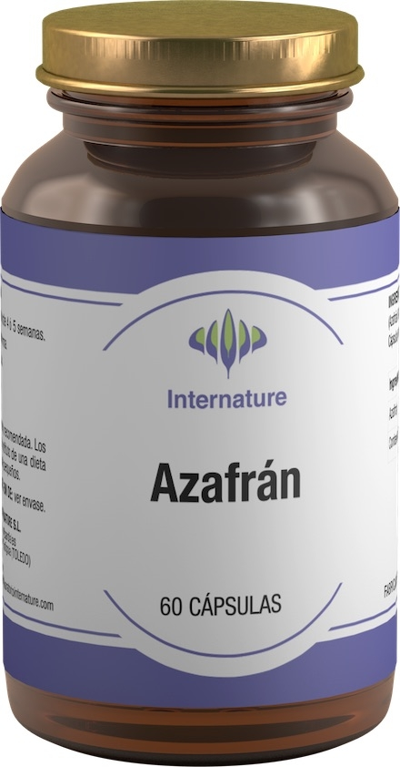 Internature Azafran 60 cápsulas
