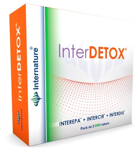 Internature Interdetox Pack Interepa+Intercir+Interdiu