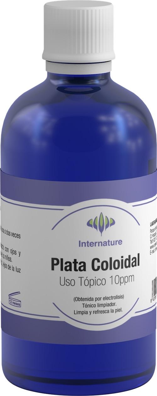 Internature Plata Coloidal 10ppm 100ml