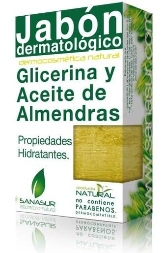 Sanasur Jabón Glicerina Aceite de Almendras 100gr