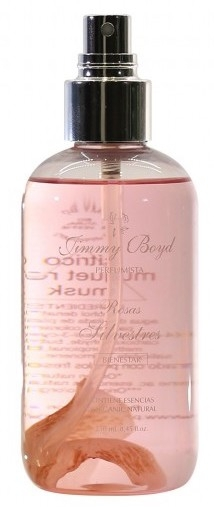 Jimmy Boyd agua fresca de rosas silvestre 250 ml. Bio