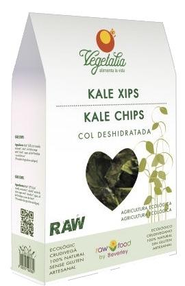 Vegetalia Kale chips ecologicas 35g