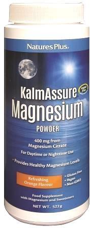 Nature's Plus Kalmassure magnesio polvo 522g