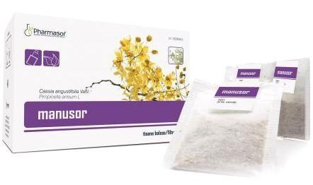 Pharmasor Infusión Manusor 20 bolsas