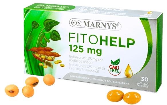Marnys Fitohelp Isoflavonas con Onagra 30 perlas