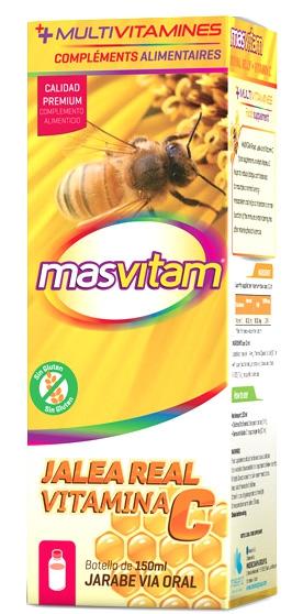 Masvitam Jalea Real + Vitamina C Jarabe 150ml