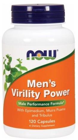 Now Men's Virility Power 120 cápsulas