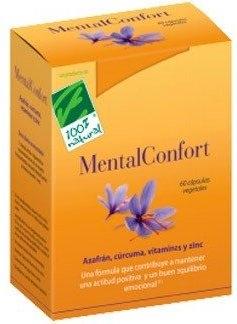 100% Natural Mentalconfort 60 cápsulas