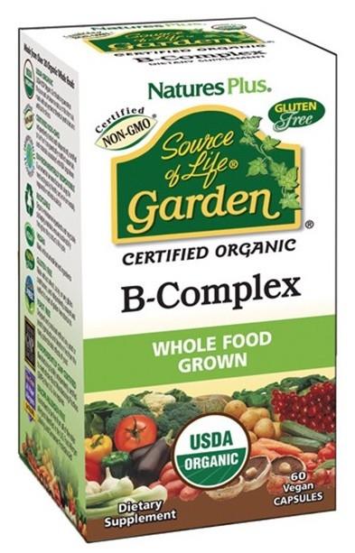 Nature´s Plus Garden B-Complex 60 cápsulas
