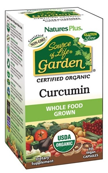 Nature´s Plus Garden Cúrcuma 400mg 30 cápsulas