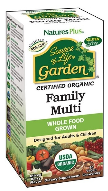 Nature´s Plus Garden Family Multi 60 comprimidos