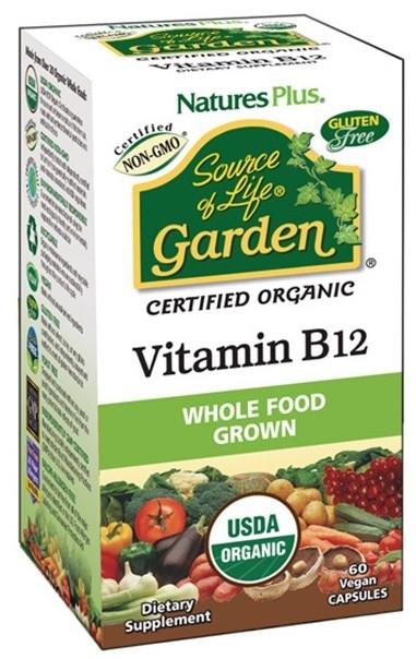 Nature´s Plus Garden Vitamina B12 60 cápsulas