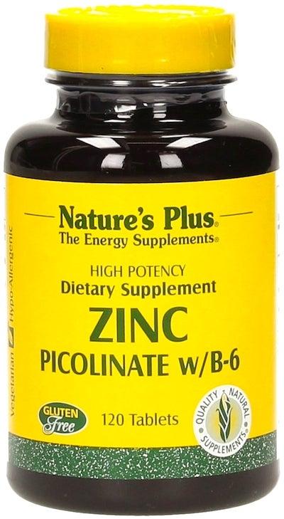 Nature's Plus Zinc Picolinato 120 comprimidos
