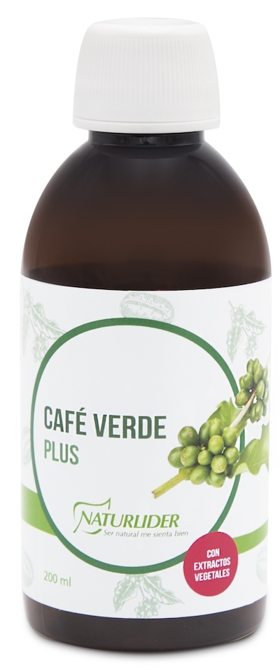 Naturlider Café Verde Plus 200ml