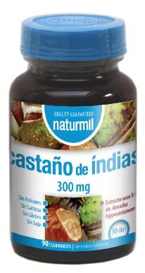 Naturmil Castaño de Indias 300mg 90 comprimidos