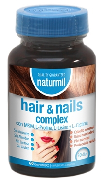 Naturmil Hair Nails Complex 60 comprimidos