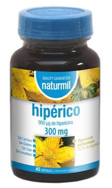 Naturmil Hipérico 300mg 45 cápsulas
