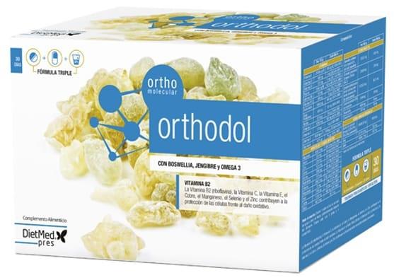 Naturmil Orthodol 30 perlas + 30 comprimidos + 30 sobres