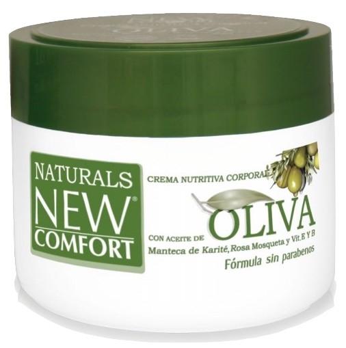 Natural New Comfort Crema Corporal Aceite de Oliva 200ml