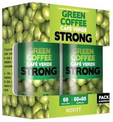 Novity Cafe Verde Strong Pack 2x60 cápsulas
