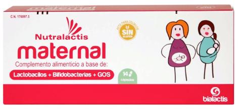 Nutralactis maternal 14 cápsulas
